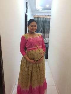 Custom design maternity dress