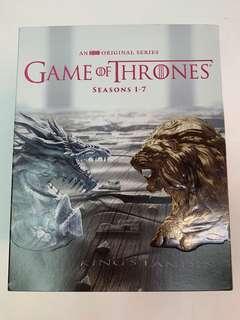 權力遊戲 Game of thrones seasons 1-7 blu ray 藍光