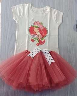 Top & Tutu Skirt for 3 to 5 years old
