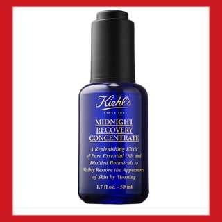 🍒🔔( reserve)receipt Midnigh recovery concentrate kiehl