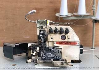 Siruba 4 thread edger industrial machine