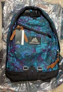 全新 Gregory day pack 藍花