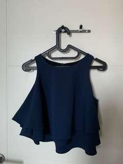 MDS Navy Top