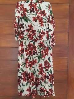 DRESS/gamis Floral