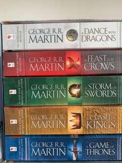 A Song Of Ice And Fire (Game Of Thrones)