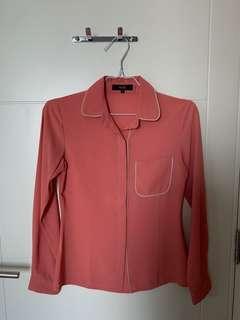 MDS coral shirt
