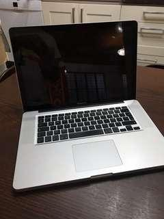 Macbook Pro 15 With 480GB SSD and 8GB Ram