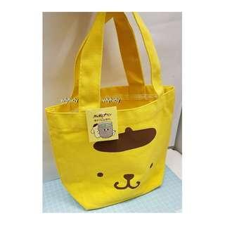 Sanrio Pompompurin 布甸狗帆布手挽袋 Tote Bag