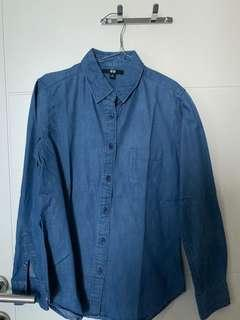 Uniqlo Denim Shirt