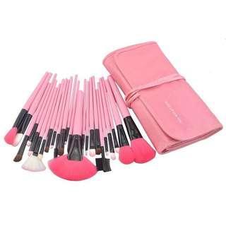 Makeup For You Brush Pink 24Pcs