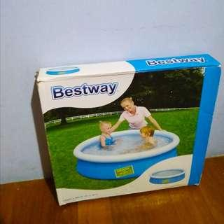 Bestway fast pool for kids free pump