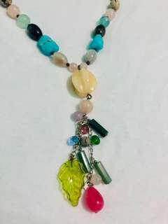 New Semi Precious Stones/Necklace/Women's Accessories