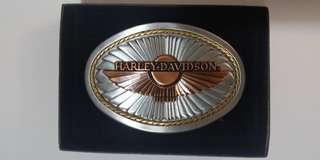 Harley Davidson 哈利 絕版皮帶扣