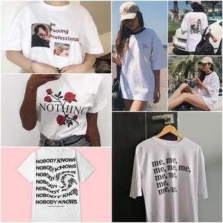 ulzzang white tumblr shirt