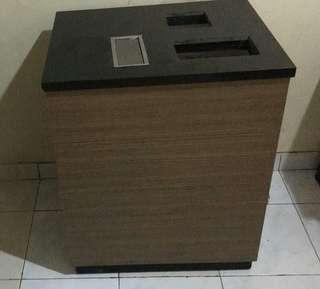 Barbeque box (tempat saos dan 3 rak) good material