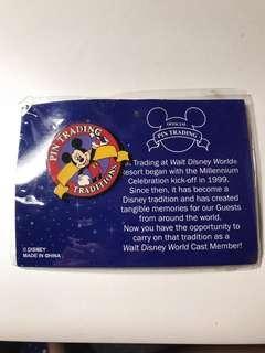 迪士尼襟章 Disneyland 米奇老鼠Pin Trading