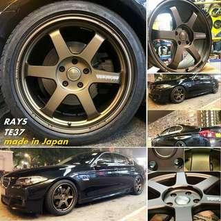 日本製造 RAYS Volk Racing TE37 車鈴