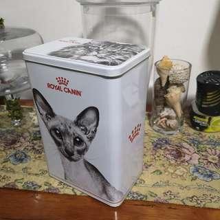 Royal Canin Pet Tin Container