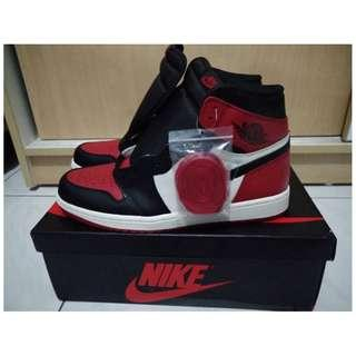 AIR JORDAN 1 OG BRED TOE