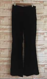 Brand new H&M Black Velvet Pants