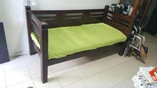 Sofa bed solid wood Fast deal $180