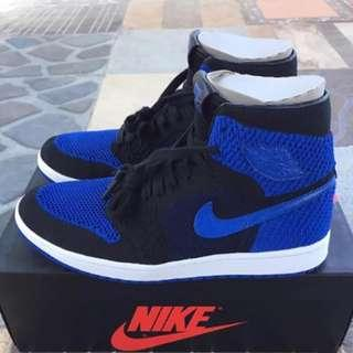 Air Jordan 1 Retro High Flyknit Royal Blue