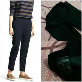 UNIQLO Smart Style Ankle Length Pants (Check Navy M)