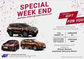 Weekend Sale Showroom Nissan Alam Sutera
