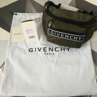 READY Givenchy Canvas Bumbag Khaki