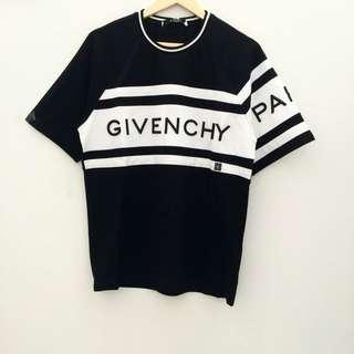 READY Givenchy T Shirt 4G Contrasting  • Black size S M L