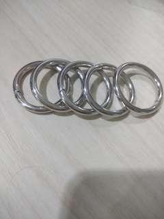Ring Tas ukuran 2 cm ( Bli grosir bs nego )
