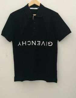 READY Givenchy Reverse Polo Shirt • Black size S M L XL