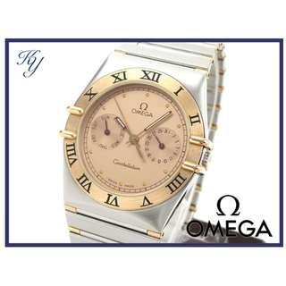 全新 Omega 18K Constellation人気系列手錶