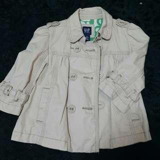 GAP Kids 100 % cotton tebal jackets kanak2 perempuan