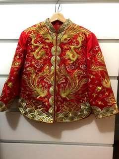 Chinese Kwa Wedding Dress (Top & Dress)