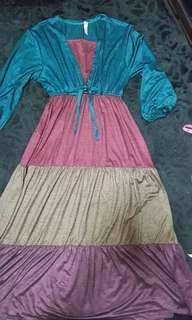 Dress kain lembut
