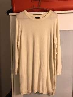 Warehouse cream sweater