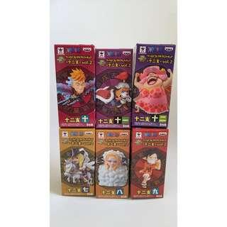 One Piece World Collectable Figures 12 Zodiac Volume 2 WCF