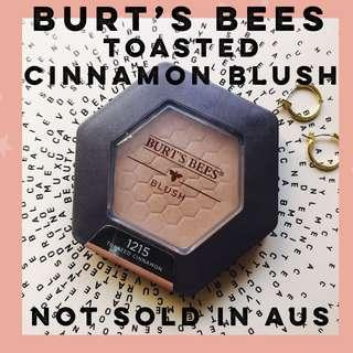 BURT'S BEES Toasted Cinnamon Blush (Not Sold In Aus)