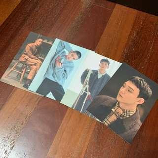 [WTS] EXO UNIVERSE OFFICIAL POSTCARDS