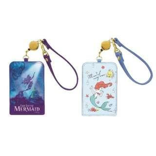 Disney princess the little mermaid card holder 廸士妮小魚仙美人魚公主可伸縮卡套掛牌