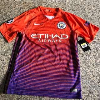 Manchester City 2016/17 Champions League Jersey