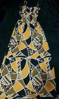 Dress kain ala lycra