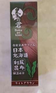 日本昆布染髮劑