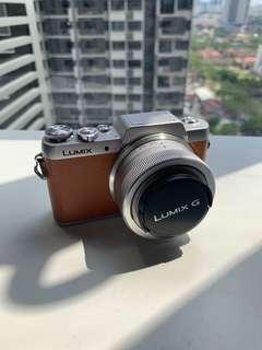 Panasonic lumix dmc-gf8 Brown camera