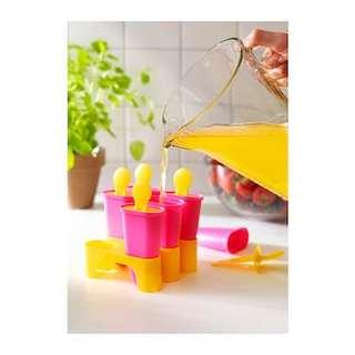 IKEA CHOSIGT  Ice lolly maker PINK