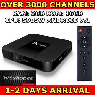 Android TV Box 2gb ram 16gb rom