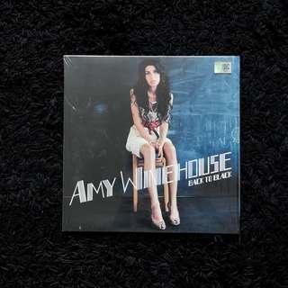 "Amy Winehouse 'Back to Black' Vinyl Record 12"""