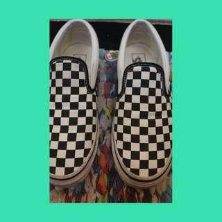 Vans Slip On Classic Checkerboard
