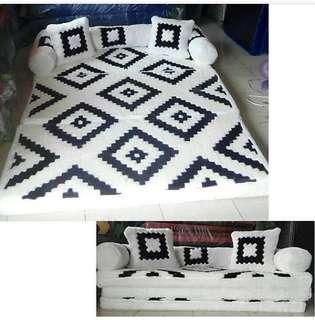 Karpet Lipat Sofa 2in1